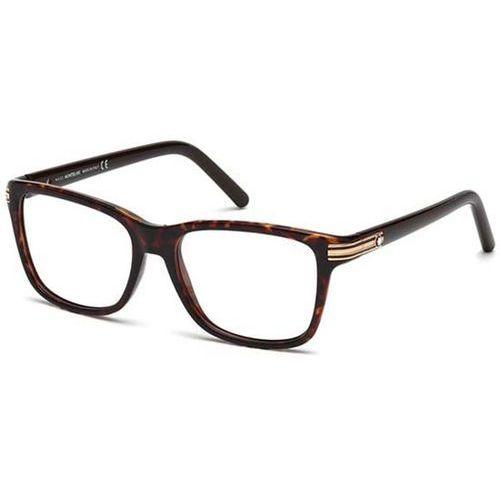 Okulary korekcyjne mb0477 052 marki Mont blanc