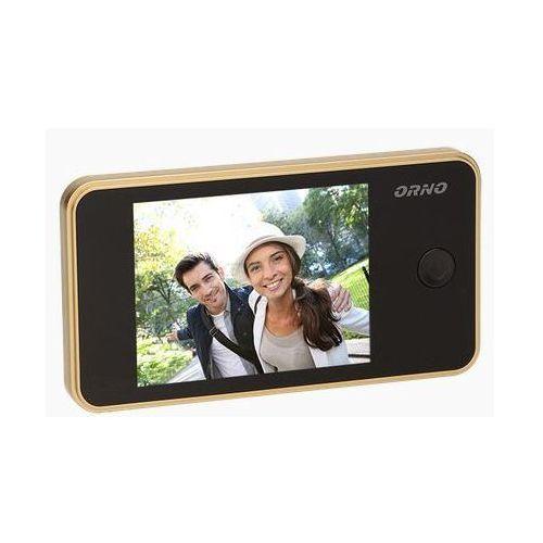 Elektroniczny wizjer do drzwi z dzwonkiem i funkcją nagrywania ORNO OR-WIZ-1104/C - sprawdź w wybranym sklepie