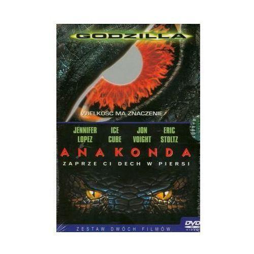 Imperial cinepix Godzilla + anakonda (dvd) - darmowa dostawa kiosk ruchu (5903570109751)