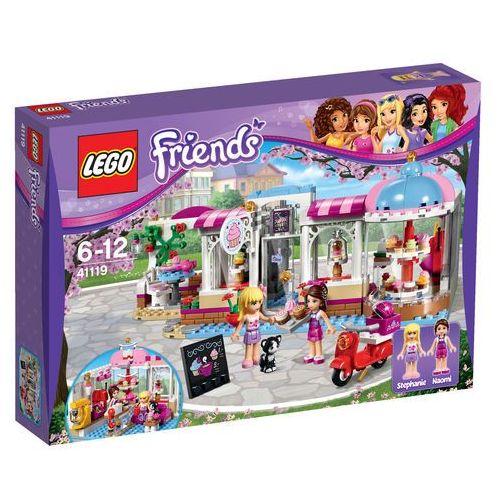 Lego Friends CUKIERNIA W HEARTLAKE (Heartlake Cupcake Cafe) 41119, klocki dla dzieci