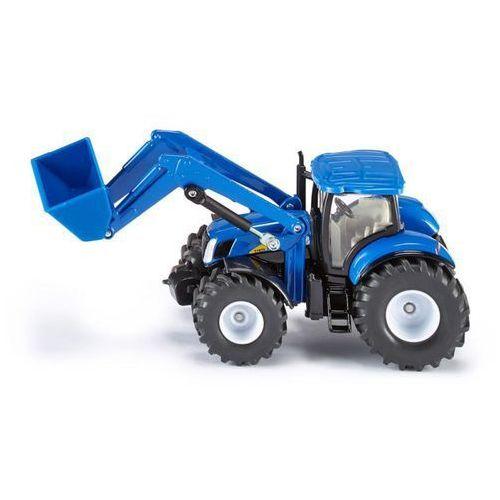 Siku, traktor New Holland z przednią ładowarką - Trefl