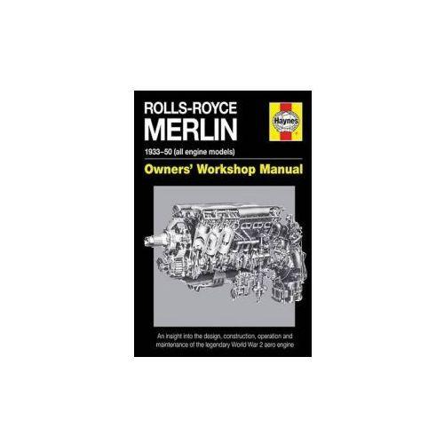Rolls-Royce Merlin Manual (160 str.) - Dobra cena!