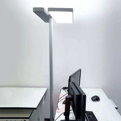 Lampa stojąca LED Aila, czujnik światła 4000 K