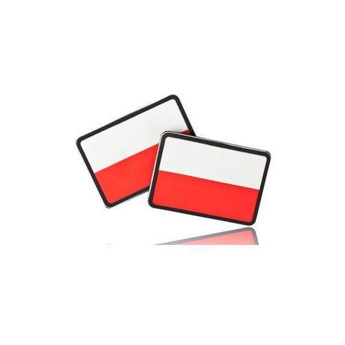 naszywka Helikon flaga PL (komplet - 2szt.) - PVC - Standard (OD-FPL-RB-20)