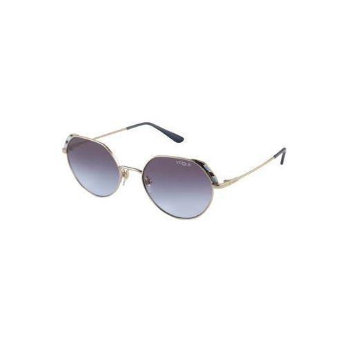 VOGUE Eyewear Okulary przeciwsłoneczne turkusowy / złoty / fioletowo-niebieski, kolor niebieski