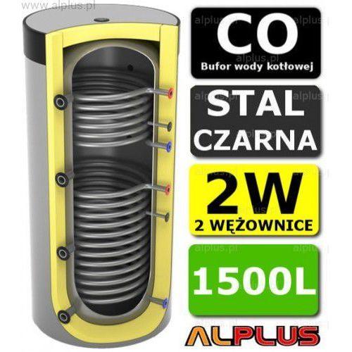Bufor 1500l do co z 2 wężownicami - zbiornik buforowy zasobnik akumulacyjny 1500 litrów - wysyłka gratis marki Lemet