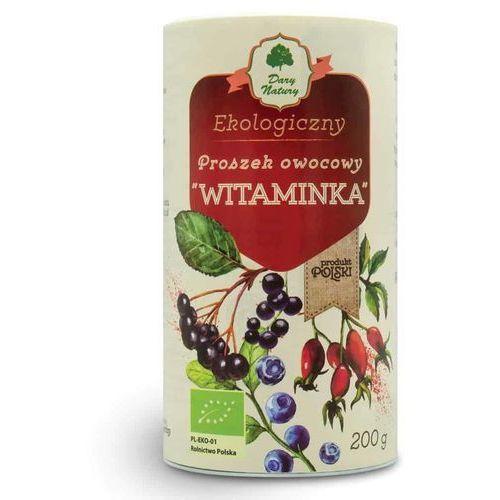 """Proszek owocowy """"Witaminka"""" BIO 200g DARY NATURY (5903246860306)"""