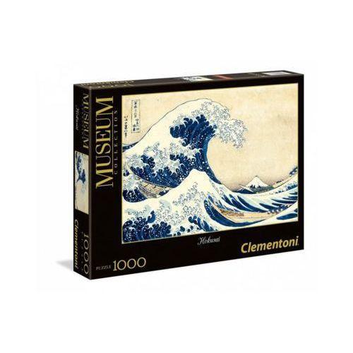 1000 elementów, hokusai, wilka fala w kanagawie marki Clementoni