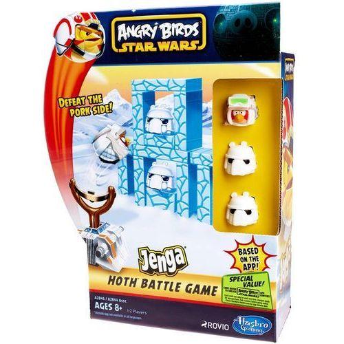 Hasbro Edukacyjna  angry birds star wars jenga battle game a2846