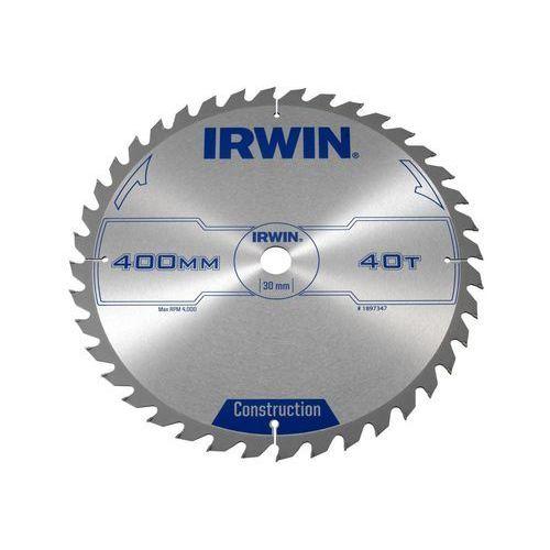 Tarcza do pilarki tarczowej 400MM/40T/30 śr. 400 mm 40 z IRWIN