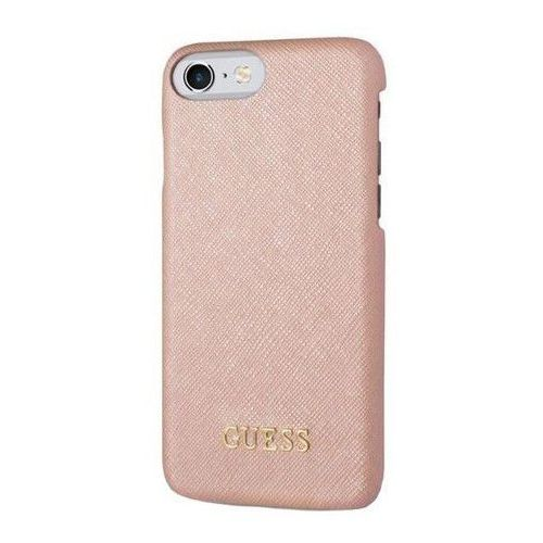 etui hard do iphone 7 różowe (guhcp7tro) darmowy odbiór w 20 miastach!, marki Guess