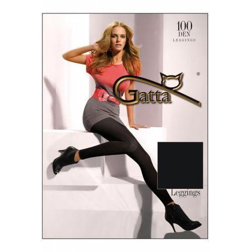 microfibre 100 den grafitowy legginsy marki Gatta