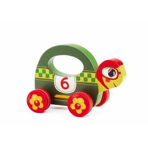 Drewniana zabawka na kółkach speedy marki Djeco