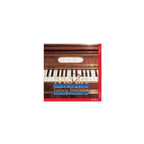 Keyboard sonatas / sonates pour clavier k. 545, 281, 310 marki Atma classique