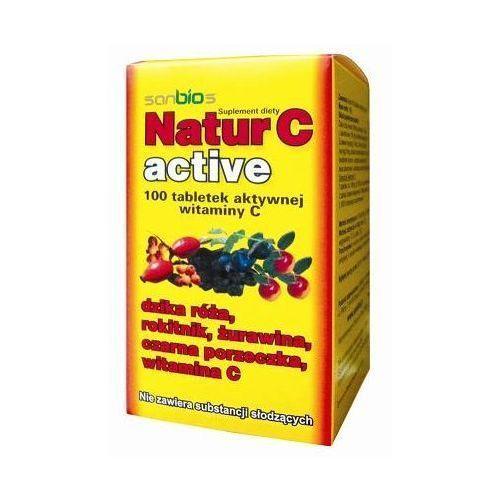 Sanbios Natur c active 500mg x 100 tabletek