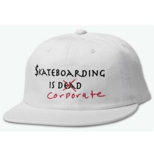 czapka z daszkiem DIAMOND - Skate Crime 6 Panel Strapback White (WHT) rozmiar: OS