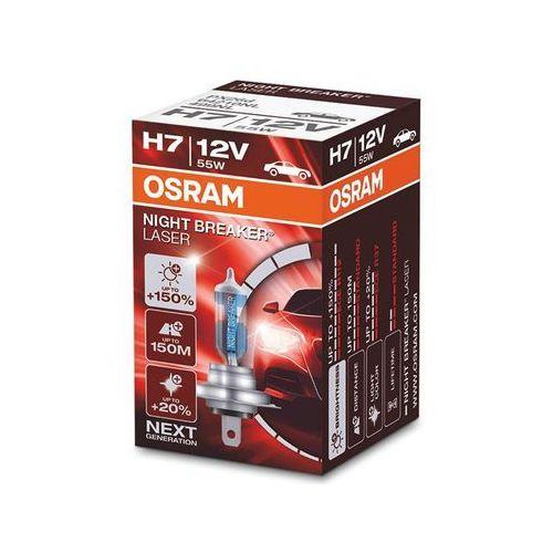 Osram Żarówka 12v h7 night breaker laser next generation +150% światła (4052899991392)