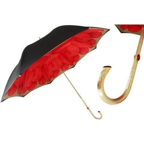 Pasotti Parasol red dahlia with black exterior, podwójny materiał, 189 21065-21 p5