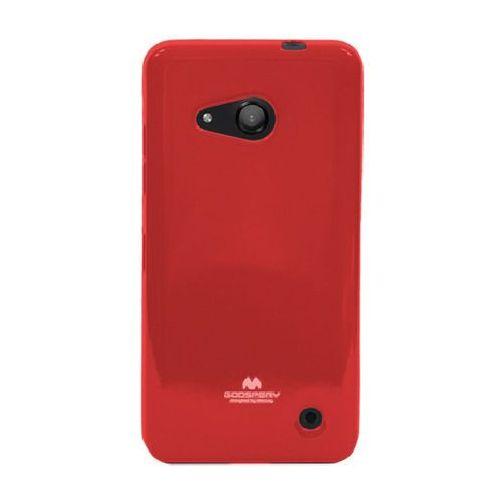 MERCURY JELLY Microsoft Lumia 550 czerwony - czerwony