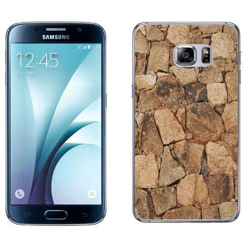 Samsung Galaxy S6 - etui na telefon - Kolekcja kamień - beżowy kamień - D20