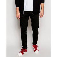 Replay Jeans Hyperflex Anbass Slim Fit Comfort Ultra Stretch Black - Black, jeansy