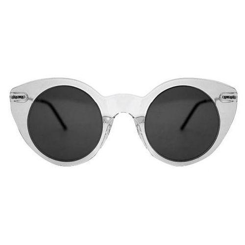 Okulary Słoneczne Spitfire Super Symmetry Tr90 Clear/Black