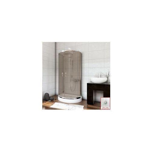 Metal-hurt sea horse Stylio zestaw kabina przyścienna 100x80x190 + brodzik + syfon, szkło transparentne z powłoką cleanglass bkz501xt+ * wysyłka gratis
