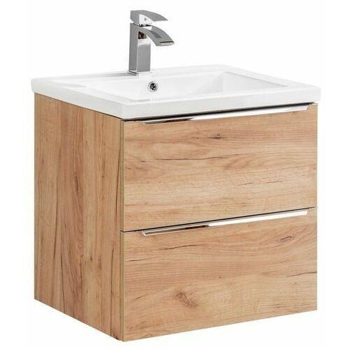 Szafka pod umywalkę 60 cm capri oak 820a marki Comad