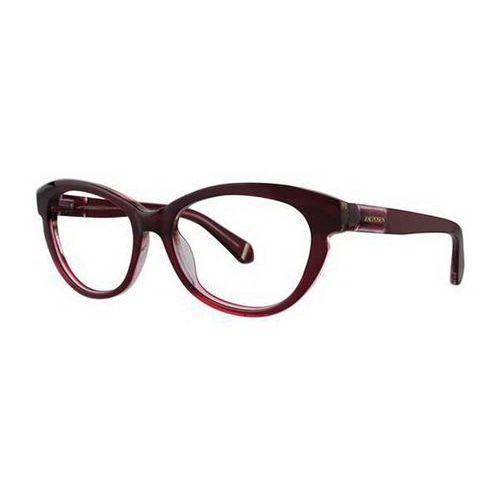 Zac posen Okulary korekcyjne amira wine