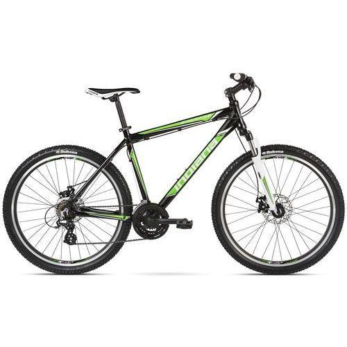 Rower INDIANA X-Pulser 2.6 M17 Czarno-Zielono-Biały Połysk BP + DARMOWY TRANSPORT! + 5 lat gwarancji na ramę! + TANIEJ PRZED SEZONEM! Sprawdź ofertę! z kategorii Pozostałe rowery