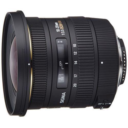 Obiektyw SIGMA Digital AF 10-20/3.5 EX DC HSM Nikon + DARMOWY TRANSPORT!, 202306