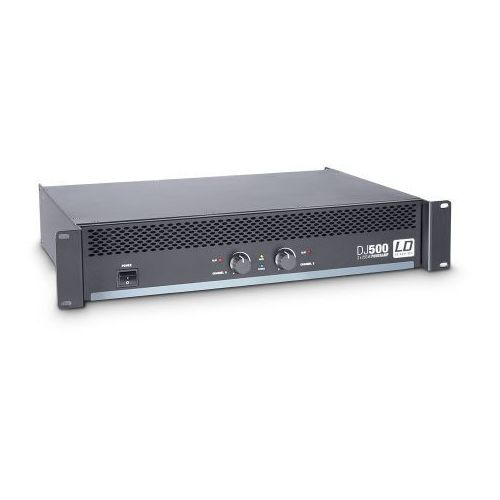 LD Systems DJ 500 końcówka mocy PA 2 x 250W, 4Ohm