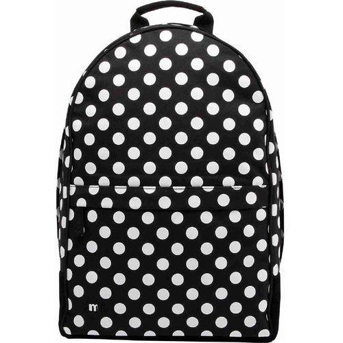 Plecak - maxwell all polka black/white-black (002) rozmiar: os marki Mi-pac