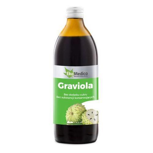 Ekamedica Graviola sok 100% z owoców (1 l)