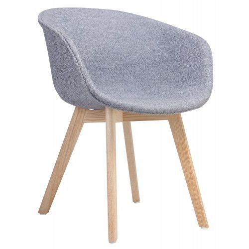 Kh Krzesło stay soft szare