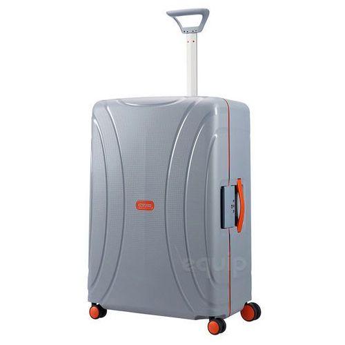 American tourister Walizka duża lock'n'roll + gratis poduszka podróżna - volt grey (5414847730245)