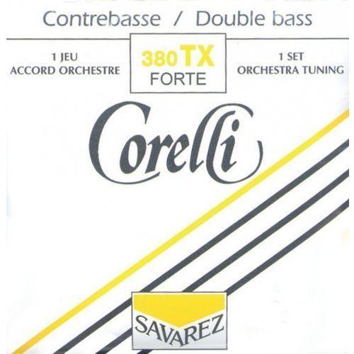 Savarez (642179) corelli struny do kontrabasu (orkiestrowe) - set (4/4 i 3/4) super mocna - 380tx