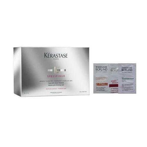 specifique aminexil intense anti-thinning care   kuracja zagęszczającza włosy - 42x6ml + losowo dobrana próbka gratis! marki Kerastase