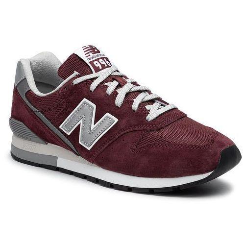 Sneakersy NEW BALANCE - CM996BJ Bordowy, w 5 rozmiarach