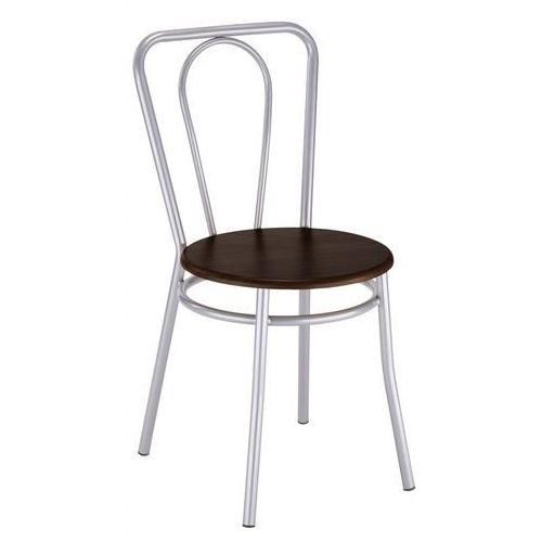 Krzesło kuchenne kolor venge malia alu marki Nowy styl