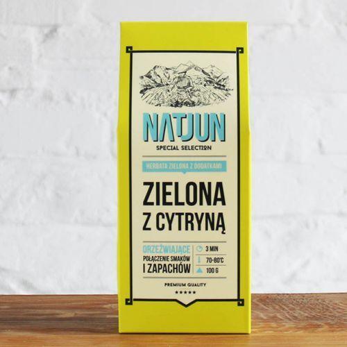 Herbata zielona z cytryną 100 g marki Natjun
