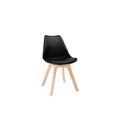 Modesto design Modesto krzesło nordic czarne - podstawa bukowa (5900000049441)
