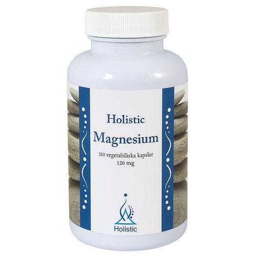 Magnez Holistic Melczan, Cytrynian Magnezu, Jabłczan, 100kaps