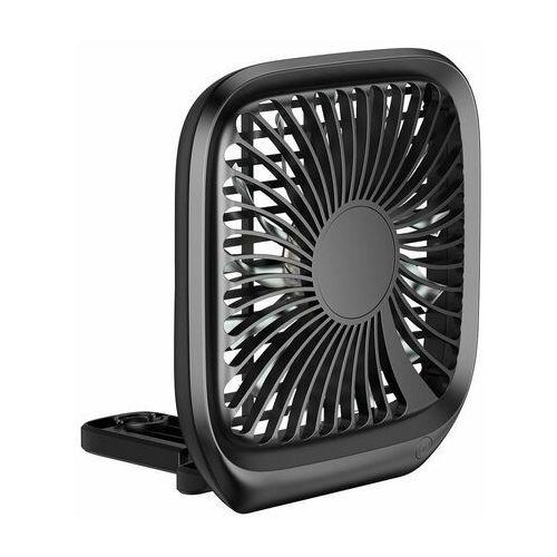 Baseus samochodowy wiatrak wentylator na uchwyt na zagłówek czarny (cxzd-01) (6953156294158)