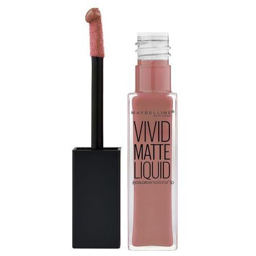 Maybelline , color sensational vivid matte. błyszczyk, 50 nude thrill, 8ml - maybelline (3600531322175)