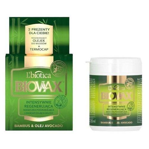 L`biotica Biovax intensywnie regenerująca maseczka bambus i olej avocado 250ml