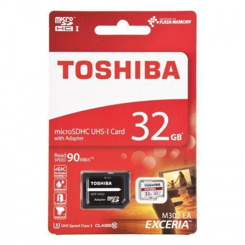 Toshiba Karta pamięci 32gb cl10 + adapter