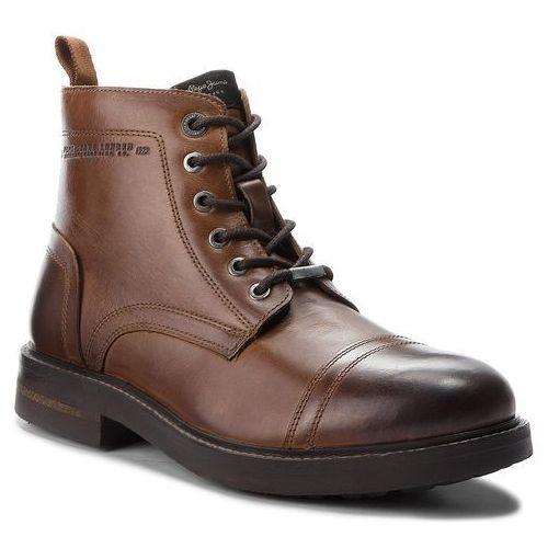 Kozaki - hubert boot pms50159 tan 869, Pepe jeans, 40-44