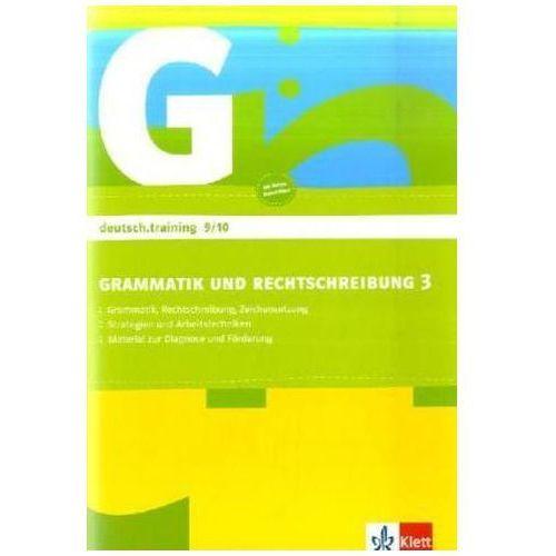 Grammatik und Rechtschreibung, Arbeitsheft für die Klassen 9/10 (9783129272046)