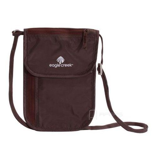 undercover neck wallet dlx saszetka podróżna na szyję / portfel / brązowa - mocha marki Eagle creek